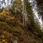 Marcel beim Klettern